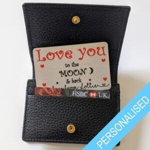 Love You Wallet Card