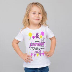 Lockdown Birthday Tshirt 2021
