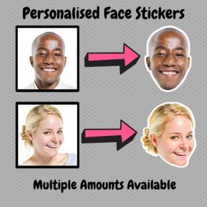 Personalised Face Stickers