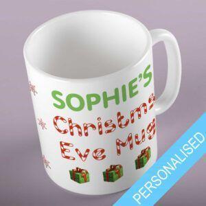 Personalised Christmas Eve Mug