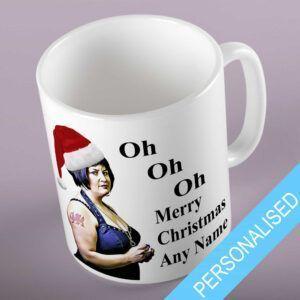 Personalsied Gavin and Stacey Christmas Mug