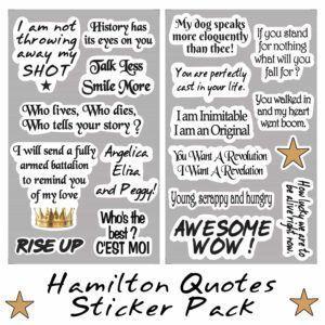 Hamilton Sticker Pack