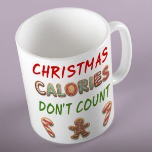 Christmas Calories Don't Count Mug
