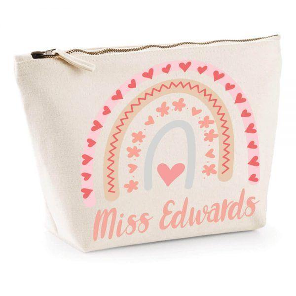 Personalsied Teacher Accessory Bag